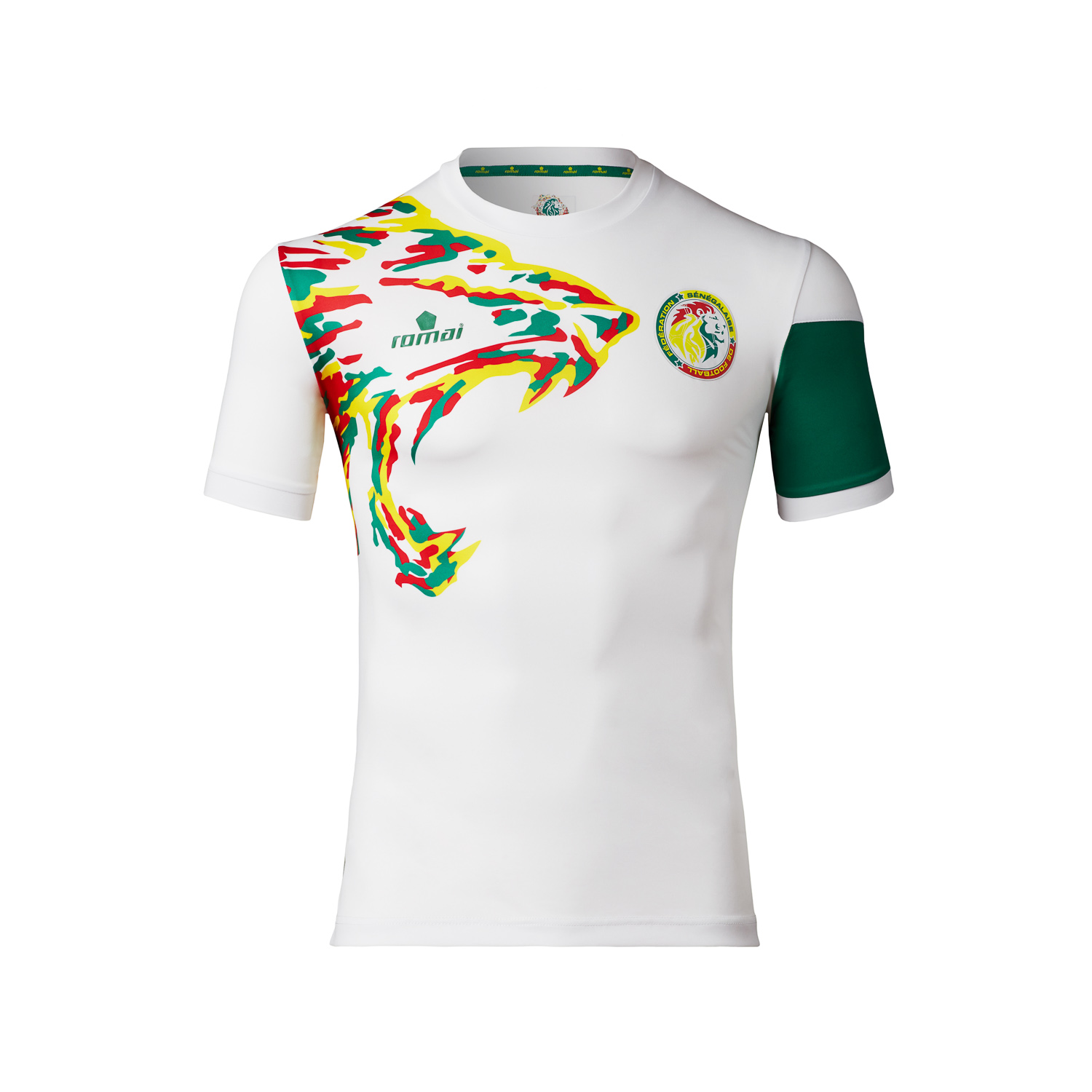 Senegal National Team – White Jersey – Romai Sports d619b6b7b